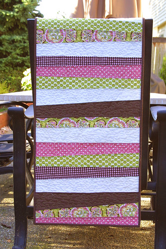 Raspberry Sunday Table Runner