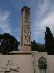 Virgilio Milani: Fontana della Riconoscenza
