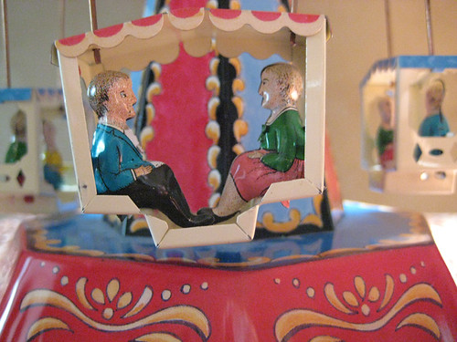 Carousel - Antique Tin Toy