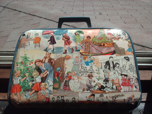 Decoupage Suitcase - a photo on Flickriver