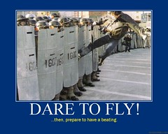 d dare 2 fly (dmixo6) Tags: freedom flying riot funny motivator order protest police humour violence despair anarchy motivation parody demotivator resistance beating wto demotivation dugg dmixo6