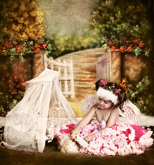(mylaphotography) Tags: angel fairytale doll crib backdrop pettiskirt angelwings mylaphotography