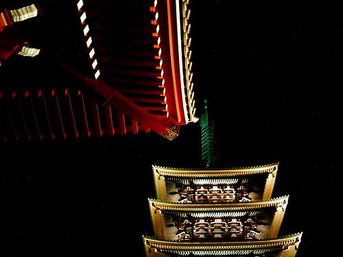 【写真】VQ3007で撮影した浅草寺五重塔
