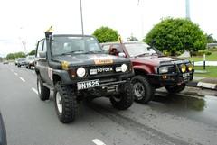 DSC_0122 (NovemberTango) Tags: 4runner landcruiser brunei toyotalandcruiser lj70 bruneinationalday buneiminiflagconvoy brunei4x4