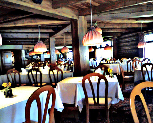 The Dining Room At The Post Hotel In Lake Louise