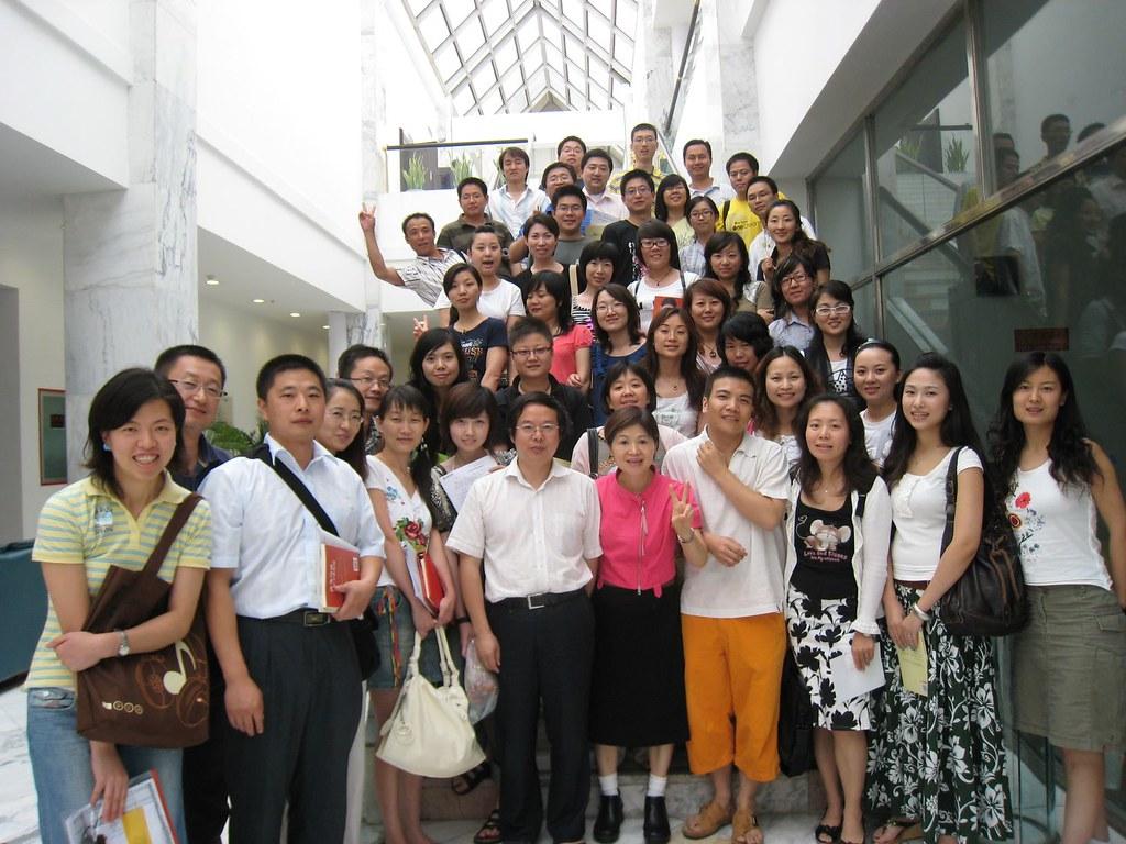 08年吳娟瑜老師應搜狐公司之邀,演講〈管理者情商〉