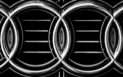 Audi Logo Black And White Audi Logo in Black And White