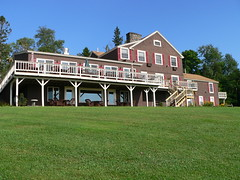 The Lodge at Moosehead Lake by Lee Coursey