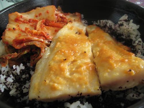 Oven Baked Miso Fish (Breakfast)