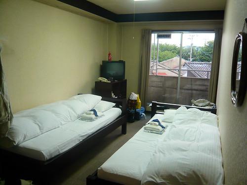Hotel room - Econo-inn Kyoto