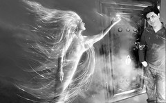 Me Near Angel (Ramin Mahpour) Tags: world boy sky art beautiful angel artist beijing human olympic ramin فرشته