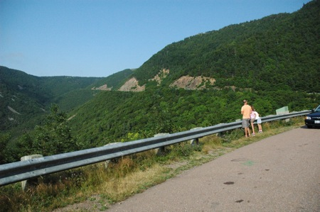 Cabot Trail view