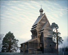 Morning in monastery (misha maslennikov) Tags: film russia orthodoxchurch maslennikov yuksovichi otherrussia
