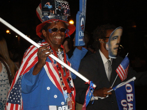 GETTING FUNKY FOR BARACK