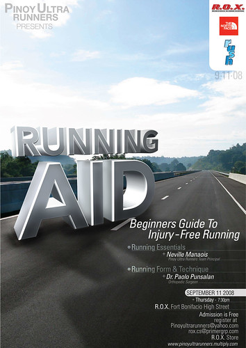 Running Aid Poster