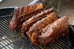 Labor Day Bar-B-Qued Ribs (ricko) Tags: food bbq meat grill pork rack ribs weber laborday smoked