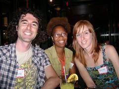 Yaro, Rene, & Frances at 30 Day Challenge NYC Meetup