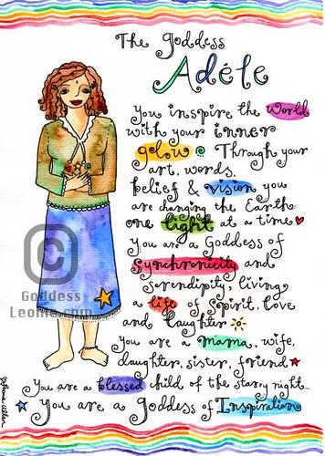 Goddess Adele: Custom Soul Story art