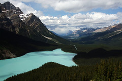 Peyto Lake (mcmillend) Tags: canada alberta banffnationalpark peytolake icefieldsparkway bowsummit