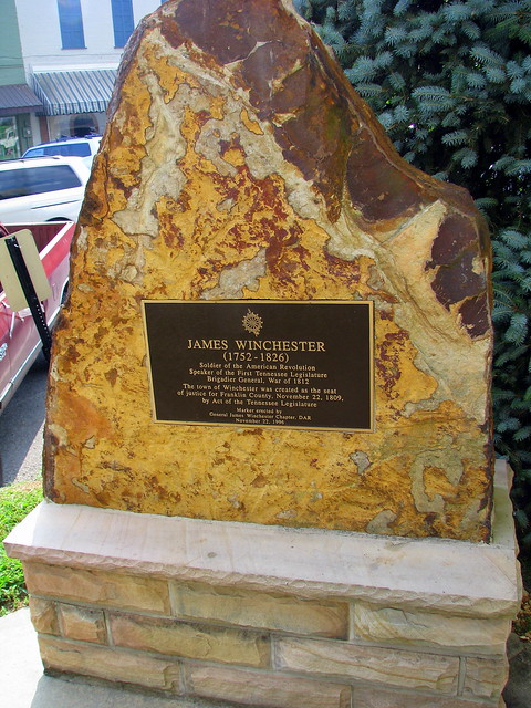 D.A.R. marker for James Winchester