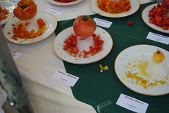 Heirloom Tomatoes on Display - Tomato Fest - Carmel '08 (Christophmb) Tags: tomato tomatoes carmel heirloom heirloomtomato tomatofesttomatoes heirloomtomatofest