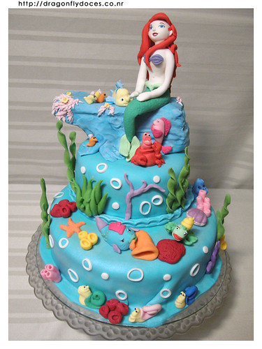 The Little Mermaid cake by