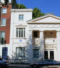 Ian Fleming's House, 22b Ebury Street, Belgrav...