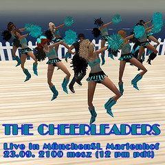 The Cheerleaders live in MünchenSL