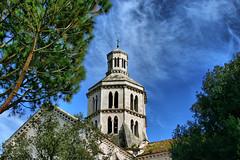 Abbazia di Fossanova LT (cinziasimotti) Tags: 300d campanile 1001nights tp canoneos lt abbazia fossanova priverno colourartaward thebeautifulvillage