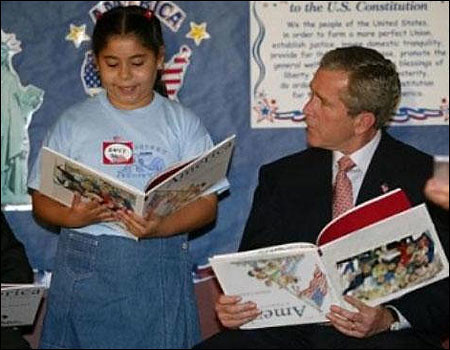 george bush fake picture