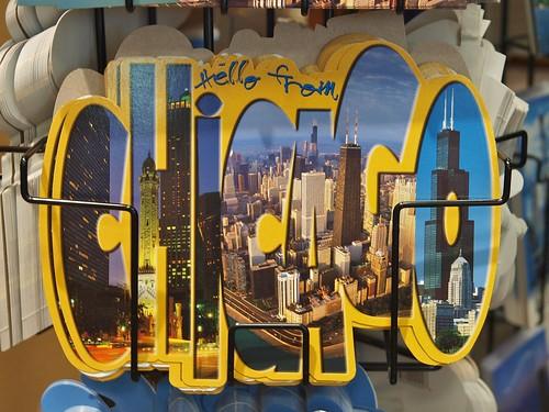 Chicago postcard