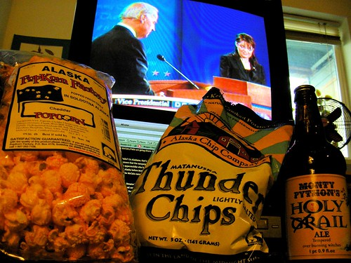 Debate munchies, 2/3 Alaska-made...