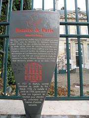 PARIS : L'htel Le Brun (XVIIIme sicle): l'histoire (fredpanassac) Tags: paris france ledefrance quartierlatin buffon watteau nombredor vitruve htellebrun