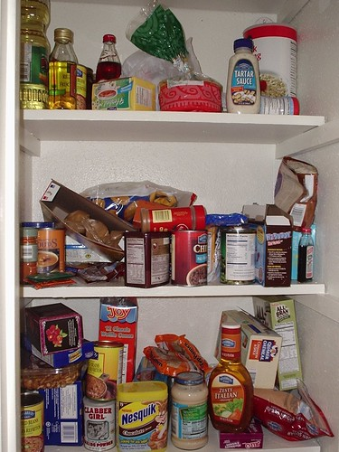 Pantry: Before