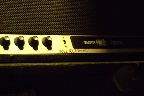 Noel Redding's amp