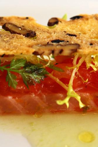 Confit de saumon a la Mediterraneanne - DSC_3068