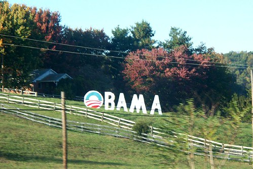 Obama sign in VA by maalivahti.