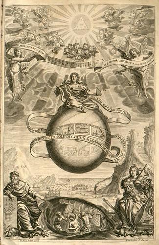 001- Musurgia universalis sive ars magna consoni et dissoni [Tome 1]- Frontispicio