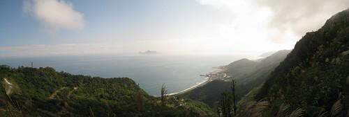 草嶺古道望龜山島