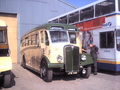 23-01 (Ian R. Simpson) Tags: jtb749 aec regaliii burlingham cumbriaclassiccoaches florence preserved coach