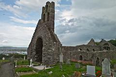 Church ruins at Howth