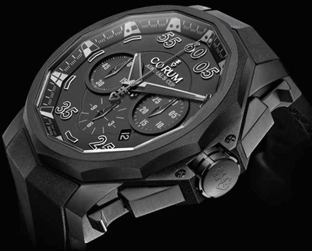 New Corum Black Hull