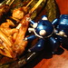 Tachikoma and yakitori