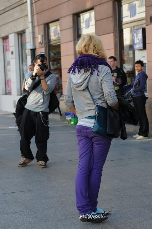 Doing street style:)