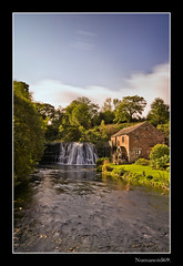 Rutter Falls. (numanoid69) Tags: longexposure river landscape waterfall cumbria watermill edenvalley nd110filter fujis5pro prideofengland rutterfalls