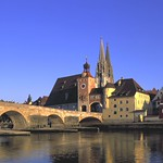 Regensburg: Stone Bridge and dome