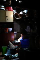 Kitchen (Plukkie2008) Tags: light kitchen indonesia java interior kampungnaga