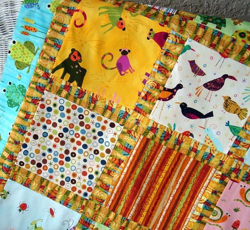 quilt top a detail