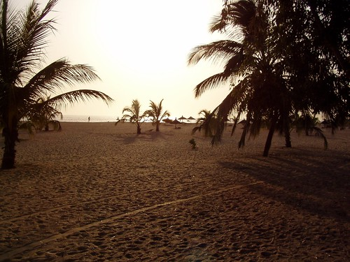Beach view from Saly, Senegal.