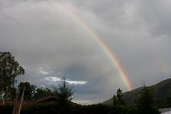 Rainbow over Kisiizi Valley
